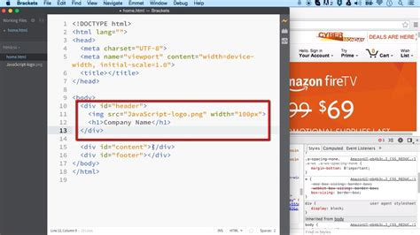 layout elements in html layout tags common elements used to layout an html page