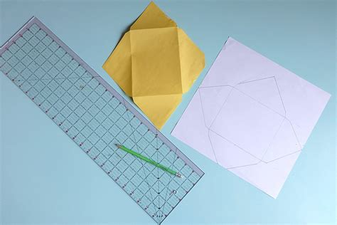 Cardstock Cards And Envelopes Template by How To Make Diy Envelopes Tutorial Hello Creative Family