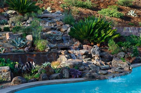 backyard hill landscaping ideas backyard hill landscape design ideas carlsbad ca contemporary landscape san