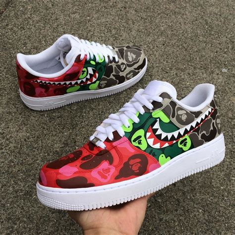sneaker customizer nike air 1 bape how cool is this bape x nike air