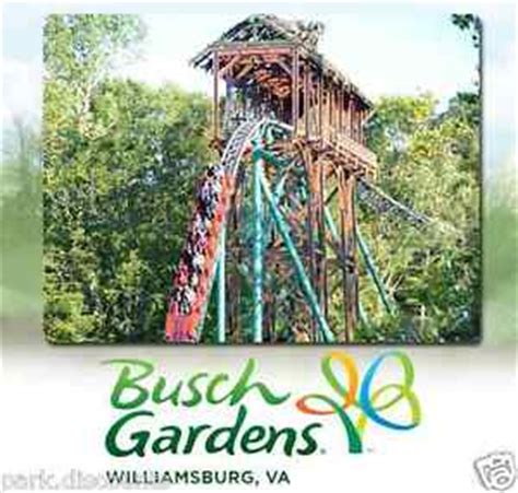 Busch Gardens Showtimes by 20 Busch Gardens Williamsburg Virginia Tickets