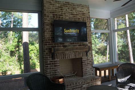 outdoor sunbrite tv installation advanced integrated