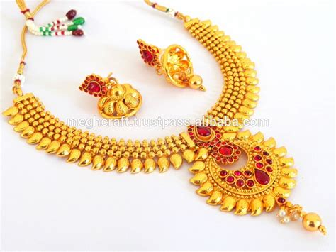 1 gram indian gold jewellery south indian ethnic jewellery one gram gold plated