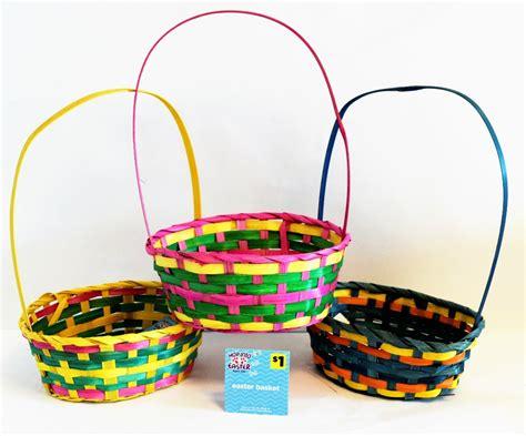 easter baskets cheap wholesale wicker easter baskets assorted sku 2133700