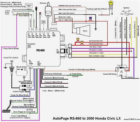 99 honda civic stereo wiring diagram webtor me