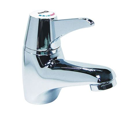 Deva Thermostatic Sequential Lever Mono Basin Mixer Tap