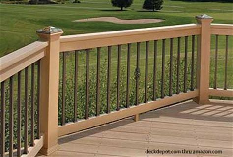 Banister Styles by Aluminum Porch Railing Aluminum Deck Railing Deck Railing Ideas