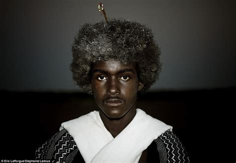 why do ethiopians have nice hair the ethiopian tribes who use butter to style their hair