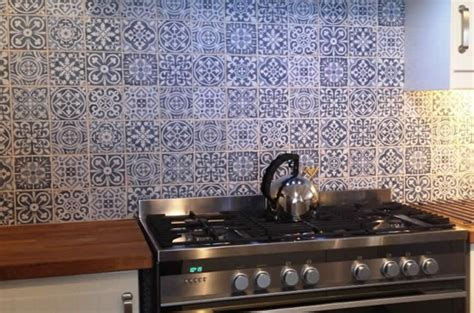 Modern Backsplash Tiles For Kitchen by Sydney Tiles Moroccan Artisan Encuastic Vintage