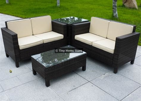 Rattan Garden Furniture Sofa Dining Set Nrtradiant Com
