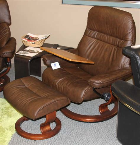 stressless tables for recliners stressless sunrise recliner chair ergonomic lounger and