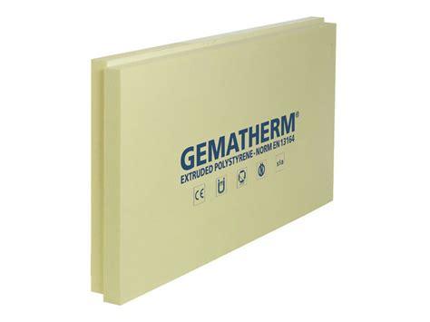 isolante per muri interni pannello termoisolante in xps gematherm 174 x7 soprema srl