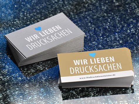 Visitenkarten Gold by Visitenkarten Mit Gold Oder Silber Drucken G 252 Nstig Mit