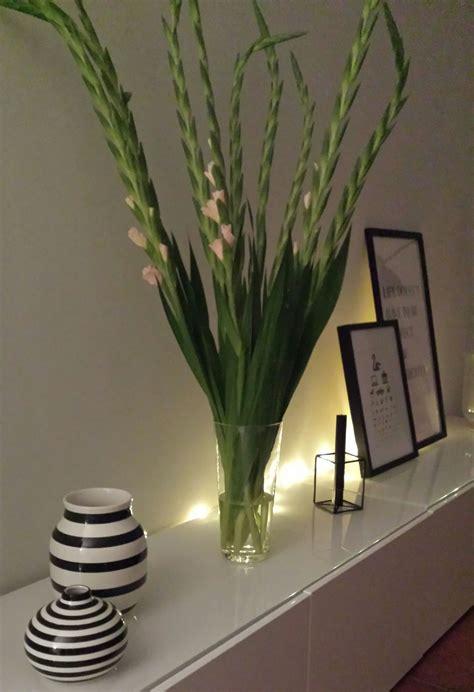 Gladiolen In Der Vase by Abendstimmung Mit Gladiolen Livingroom