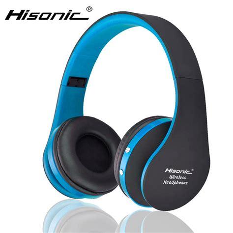 Sport Bluetooth Printer hisonic bluetooth headset wireless headphones stereo foldable sport earphone microphone headset