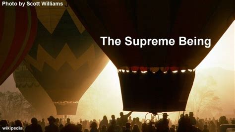 supreme being the supreme being