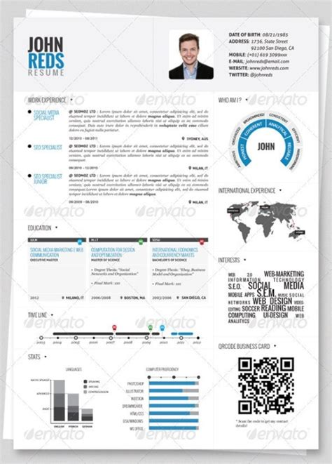 stylish cv format word 25 superb resume templates