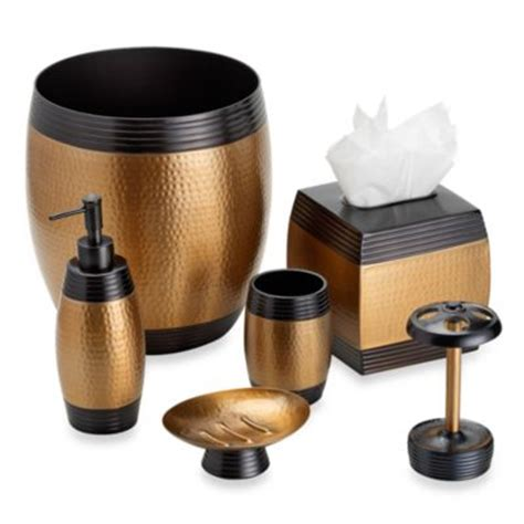 Bathroom Accessories Bronze Buy Bronze Bathroom Accessories From Bed Bath Beyond