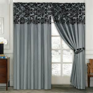 curtains damask luxury damask curtains pair of half flock pencil pleat