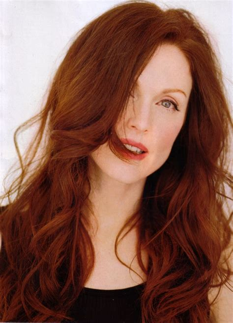 Julianne Moore Natural Hair Color | julianne moore red hair pinterest