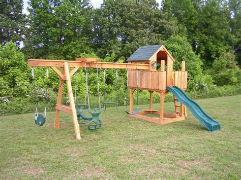 Backyard Playset Ideas Outdoor Playset