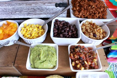 Taco Bar Topping Ideas by Taco Bar Ideas Munchkins