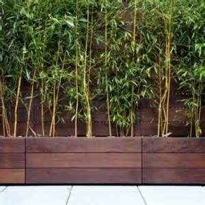 modern wooden planter boxes deck planters
