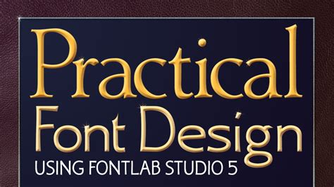 font design course new practical font design video course is up on udemy