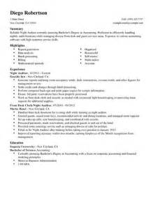 best auditor resume exle livecareer