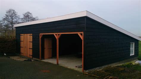 schuur deur schuur bouwen hout geraamte 15 schuurdeuren plaatsen