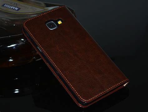 Samsung C9 Pro Sarung Leather Flip Cover Stand cow leather samsung galaxy c9 pro flip stand cover casing gift 11street malaysia