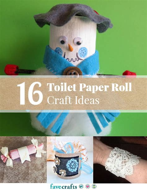 Paper Craft Ideas For Free - 16 toilet paper roll craft ideas free ebook favecrafts