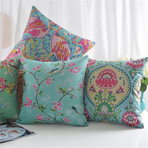 sofa cushion styles 5 styles flamingo birds sofa cushion covers flower birds