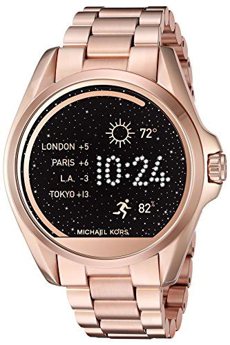 Smartwatch Mk unisex michael kors touch screen gold bradshaw smartwatch mkt5004 ebay
