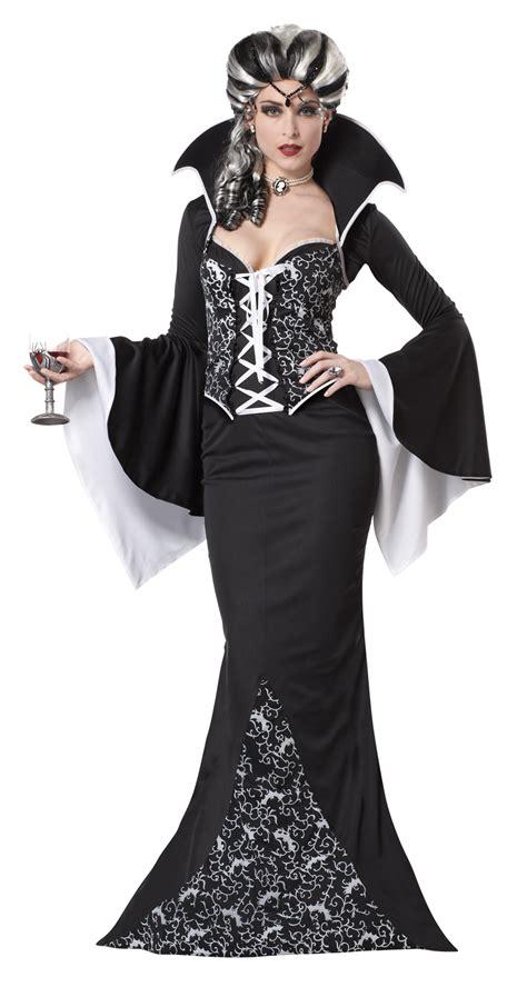Hh 920592couple Costume Black deluxe royal viress fancy dress black white costume ebay