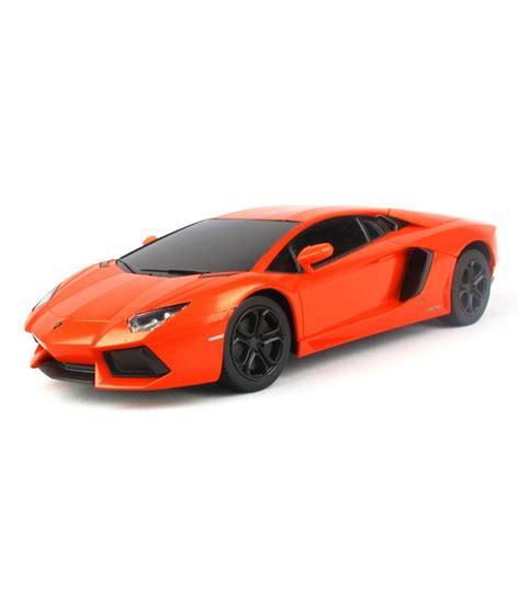 Rc Mobil Lamborghini Aventador Skala 124 Orange rastar 1 24 scale remote lamborghini aventador