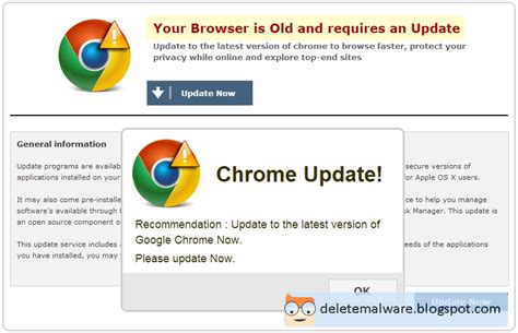 chrome virus malware removal instructions fake chrome update virus