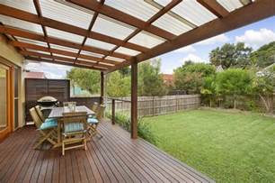 Design For Decks With Roofs Ideas Decking With Roof Garden Ideas Decks Backyards And Decking