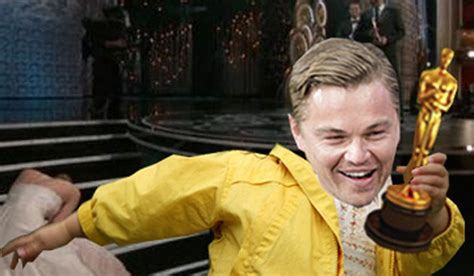 Leonardo Dicaprio Oscar Meme - the wolf of wallstreet was fun to make
