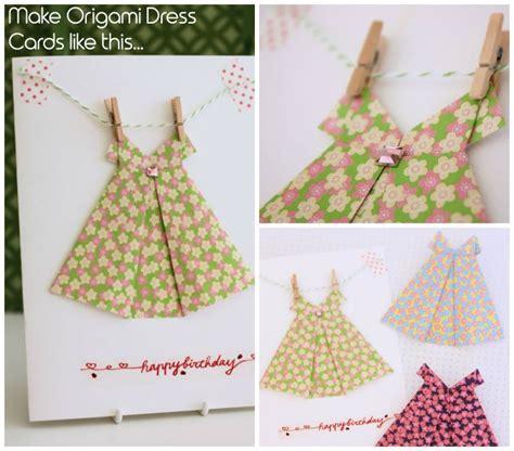 tutorial origami wedding dress origami dress cards with video tutorial diy pinterest