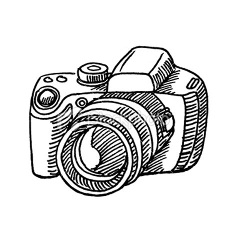 free coloring pages of camera drawn
