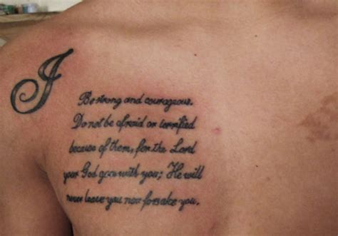 bible verse tattoos on chest 26 pious holy scripture tattoos for 2013 creativefan