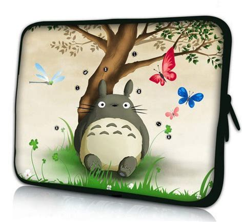 cute totoro laptop soft sleeve bag case cover pouch