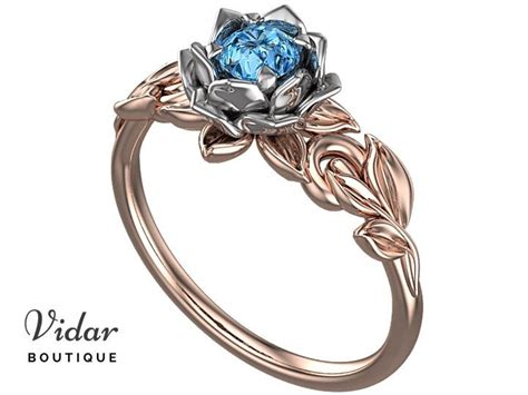Flower Solitaire Ring 17 best ideas about flower engagement rings on