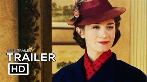 emily blunt trailer mary poppins returns official trailer 2018 emily blunt