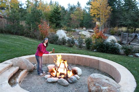 outside firepits outdoor pit suncadia