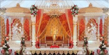 Luxurious mandap d 233 cor ideas for hindu weddings weddings eve