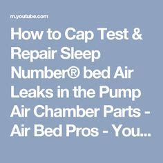 how to disassemble a sleep number bed how to glue the fitting back into sleep number 174 bed air
