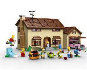 lego d 233 voile le coffret 71006 the simpsons house