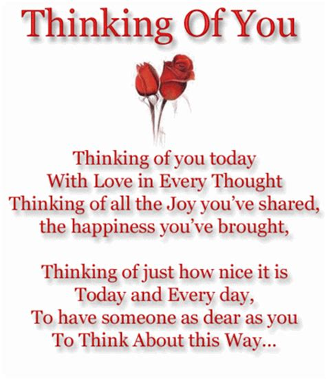 Thinking Of You Quotes Thinking Of You Today With In Every Thought